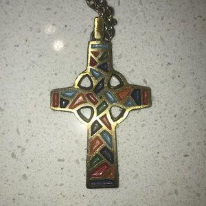 Jewelry - Vintage Terra Sancta Guild necklace